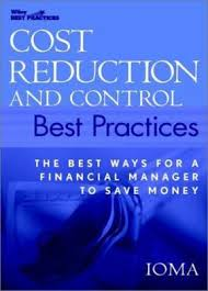 Cost reduction and control best practices