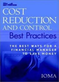 Image of Cost reduction and control best practices